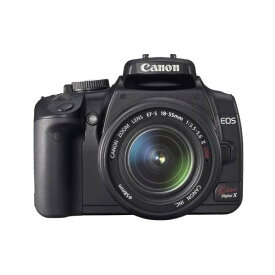 【5/9~16 クーポンで最大4000円OFF!!】キヤノン Canon EOS Kiss デジタル X レンズキット ブラック KISSDXB-LKIT