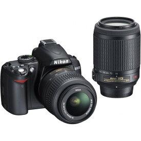 ニコン Nikon D3000 ダブルズームキット D3000WZ 新品SDカード付き