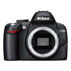 ニコン Nikon D3000 ボディ 新品SDカード付き