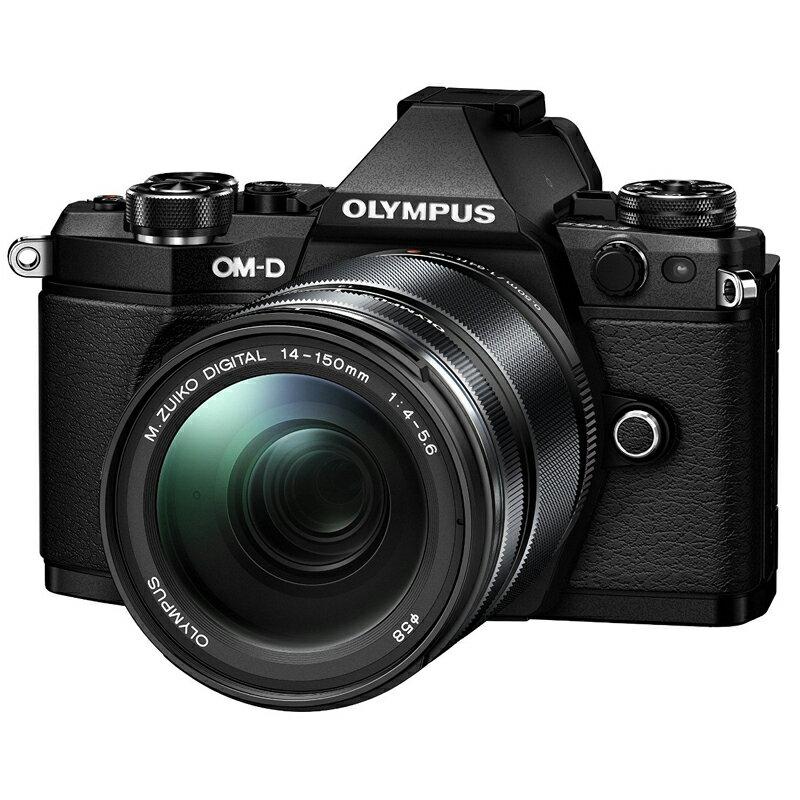 OLYMPUS オリンパス ミラーレス一眼カメラ OM-D E-M5 Mark II 14-150mm II レンズキット ブラック