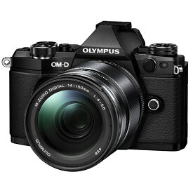 【6月20日0:00-6月26日1:59最大3,500円OFFクーポン発行中!】OLYMPUS オリンパス ミラーレス一眼カメラ OM-D E-M5 Mark II 14-150mm II レンズキット ブラック