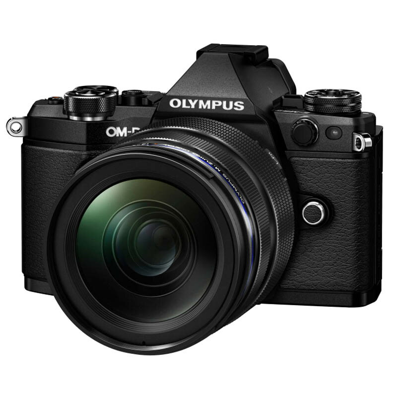 OLYMPUS オリンパス ミラーレス一眼カメラ OM-D E-M5 Mark II 12-40mm F2.8 レンズキット ブラック