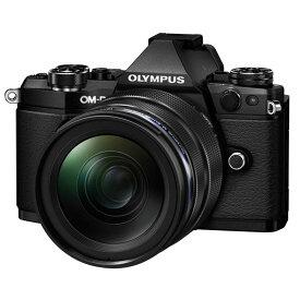 【7月21日20:00-7月26日1:59エントリー&楽天カード決済でポイント最大7倍!】OLYMPUS オリンパス ミラーレス一眼カメラ OM-D E-M5 Mark II 12-40mm F2.8 レンズキット ブラック