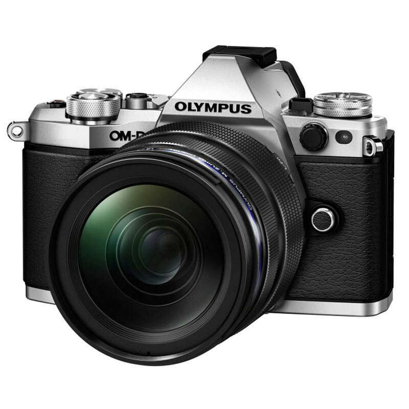 OLYMPUS オリンパス ミラーレス一眼カメラ OM-D E-M5 Mark II 12-40mm F2.8 レンズキット シルバー
