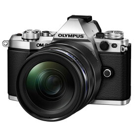 【7月21日20:00-7月26日1:59エントリー&楽天カード決済でポイント最大7倍!】OLYMPUS オリンパス ミラーレス一眼カメラ OM-D E-M5 Mark II 12-40mm F2.8 レンズキット シルバー