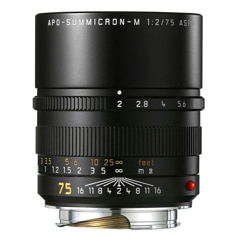 ライカ Leica アポ・ズミクロン M f2/75mm ASPH. (11637C) APO-SUMMICRON 大口径・望遠レンズ