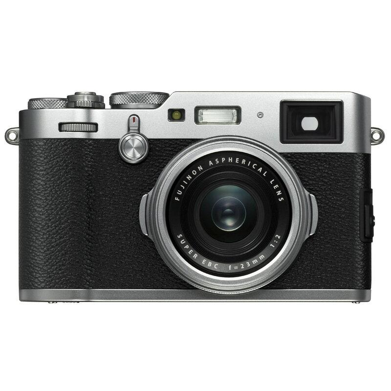 【4月22日20:00-26日1:59エントリー&楽天カード決済でポイント7倍!】FUJIFILM フジフイルム コンパクトデジタルカメラ X100F シルバー