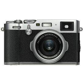 FUJIFILM フジフイルム コンパクトデジタルカメラ X100F シルバー