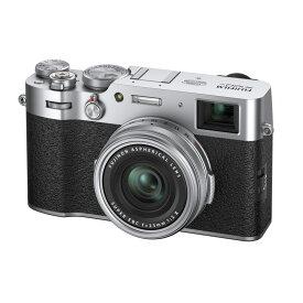 【5月25日24時間限定!Wエントリー&楽天カード決済でポイント最大14倍!】FUJIFILM フジフイルム コンパクトデジタルカメラ X100V シルバー
