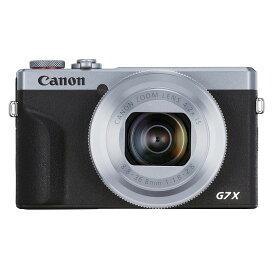 Canon キヤノン コンパクトデジタルカメラ PowerShot G7 X Mark III シルバー パワーショット