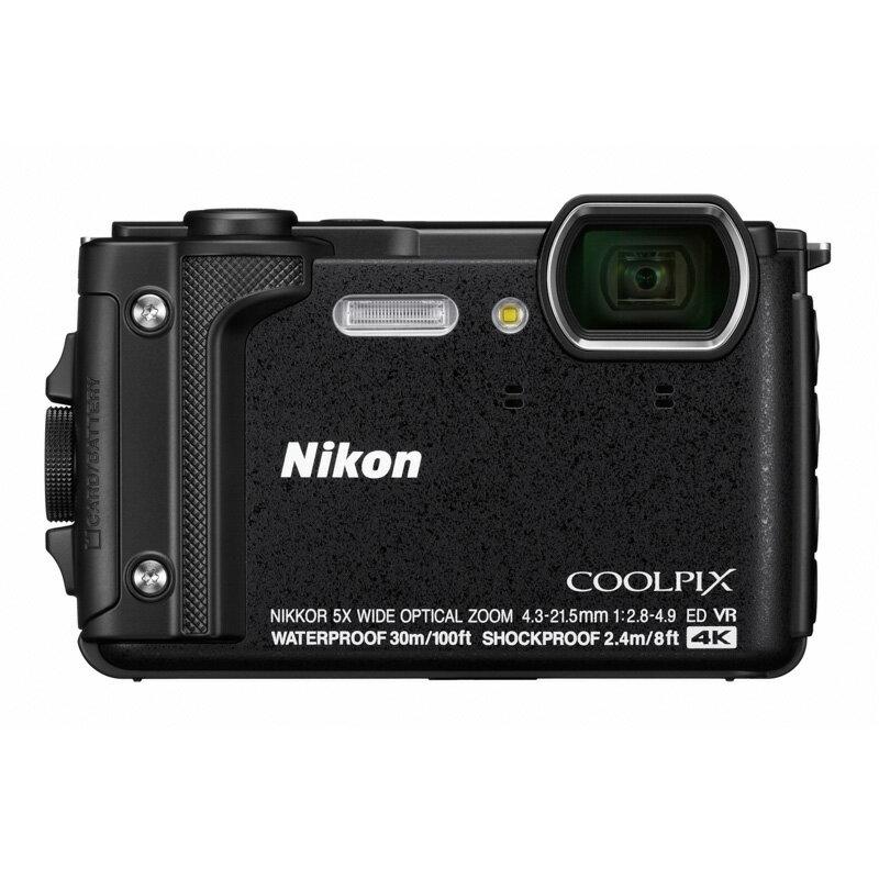 【4月22日20:00-26日1:59エントリー&楽天カード決済でポイント7倍!】Nikon ニコン コンパクトデジタルカメラ COOLPIX W300 ブラック クールピクス