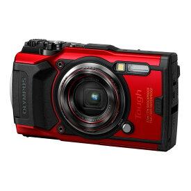 【7月15日24時間限定!Wエントリー&楽天カード決済でポイント最大14倍!】OLYMPUS オリンパス コンパクトデジタルカメラ Tough TG-6 レッド