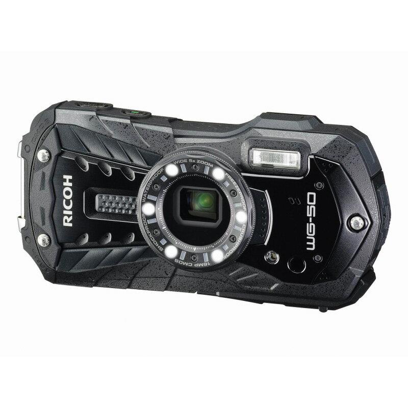 リコー RICOH コンパクトデジタルカメラ WG-50 ブラック