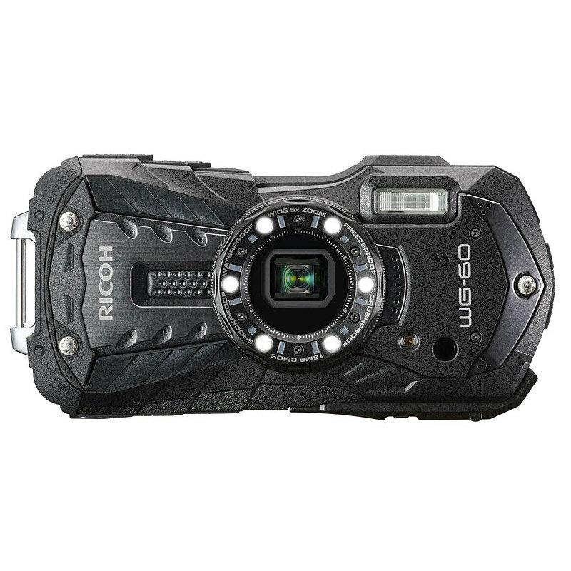 【4月22日20:00-26日1:59エントリー&楽天カード決済でポイント7倍!】リコー RICOH コンパクトデジタルカメラ WG-60 ブラック
