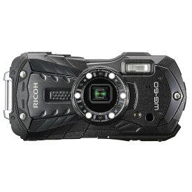 【7月1日限定!ダブルエントリーでポイント最大10倍!】リコー RICOH コンパクトデジタルカメラ WG-60 ブラック