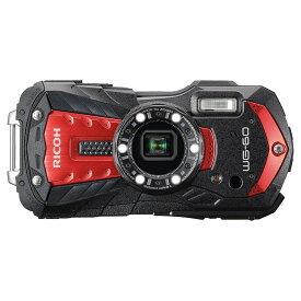 リコー RICOH コンパクトデジタルカメラ WG-60 レッド