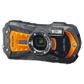 【1月24日20:00-1月28日1:59 最大6,000円OFFクーポン発行中!】リコー RICOH コンパクトデジタルカメラ WG-70 オレンジ