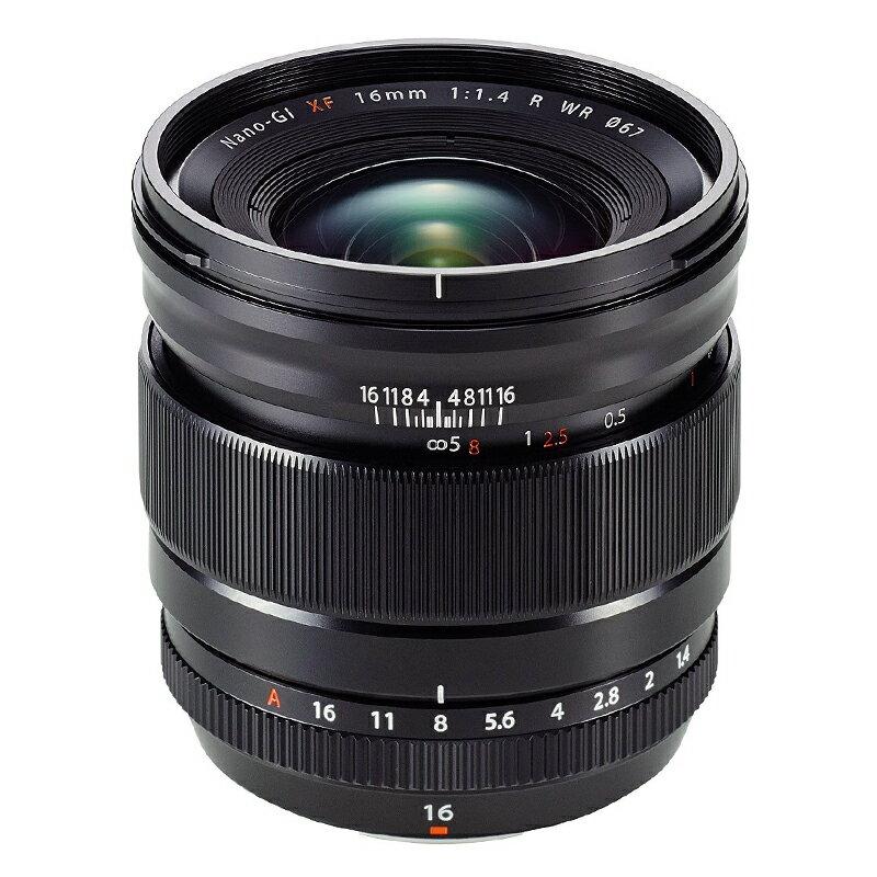 FUJIFILM フジフイルム 広角単焦点レンズ XF 16mm F1.4 R WR