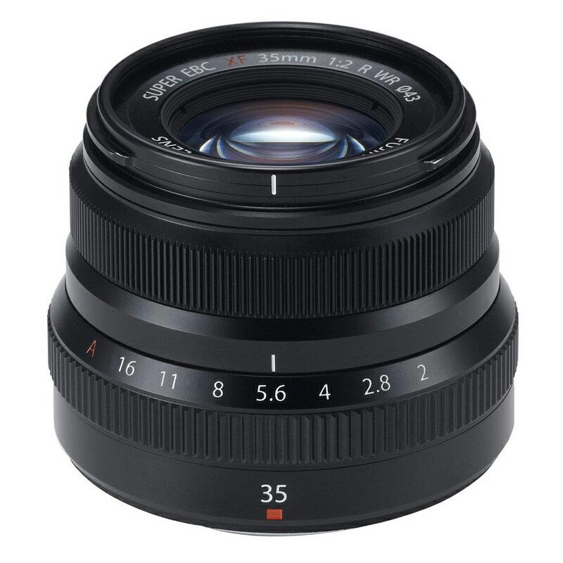 FUJIFILM フジフイルム 標準単焦点レンズ XF 35mm F2 R WR ブラック
