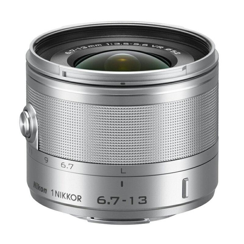 Nikon ニコン Nikon1用 超広角ズームレンズ 1 NIKKOR VR 6.7-13mm f/3.5-5.6 シルバー