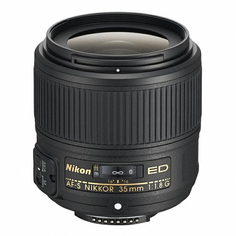 Nikon ニコン 広角単焦点レンズ AF-S NIKKOR 35mm f/1.8G ED 【キャッシュバックキャンペーン¥5,000対象】