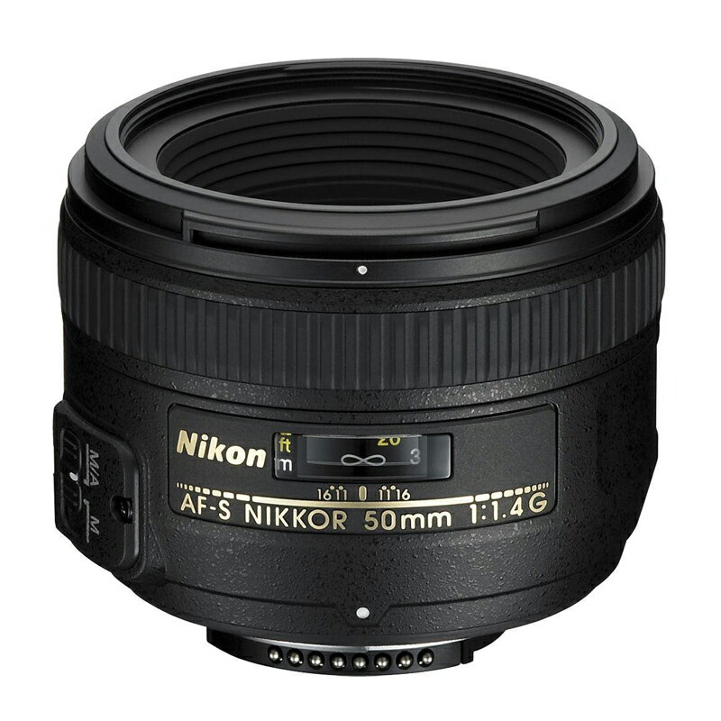 Nikon ニコン 標準単焦点レンズ AF-S NIKKOR 50mm f/1.4G 【キャッシュバックキャンペーン¥5,000対象】