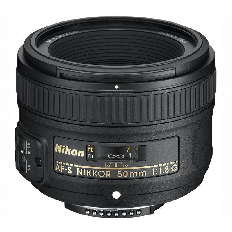 Nikon ニコン 大口径標準単焦点レンズ AF-S NIKKOR 50mm f/1.8G 【キャッシュバックキャンペーン¥5,000対象】