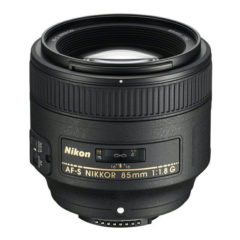 Nikon ニコン 中望遠単焦点レンズ AF-S NIKKOR 85mm f/1.8G 【キャッシュバックキャンペーン¥5,000対象】