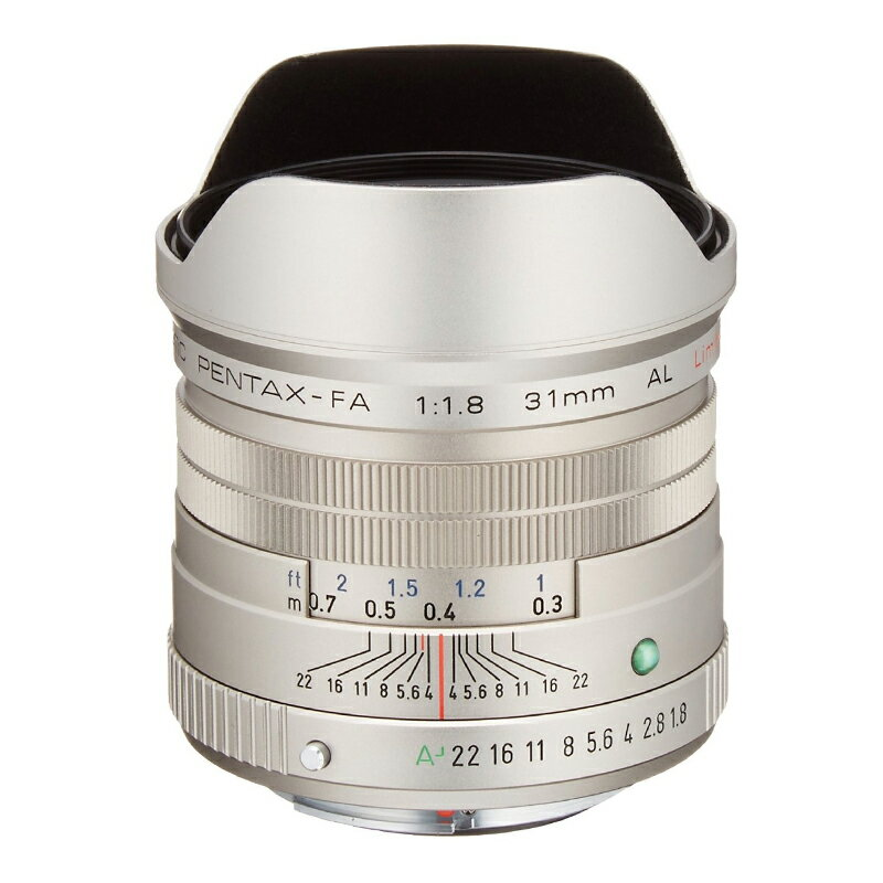 PENTAX (ペンタックス) smc PENTAX-FA 31mm F1.8 AL Limited シルバー 広角単焦点レンズ