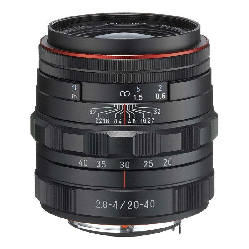 PENTAX (ペンタックス) HD PENTAX-DA 20-40mm F2.8-4 ED Limited DC WR ブラック 標準ズームレンズ