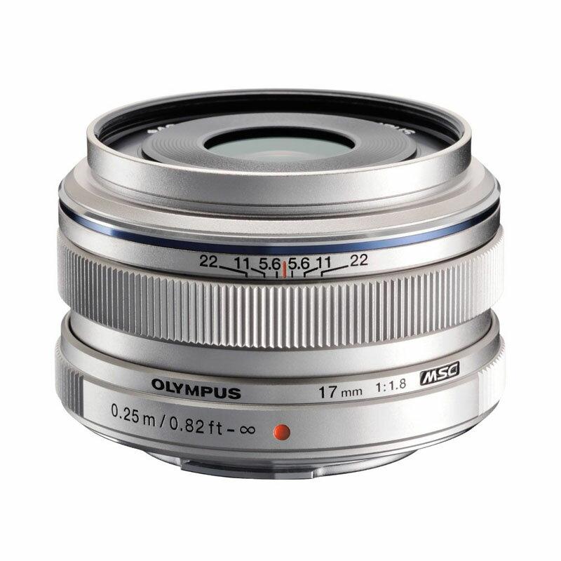 OLYMPUS オリンパス マイクロフォーサーズ用広角単焦点レンズ M.ZUIKO DIGITAL 17mm F1.8 シルバー