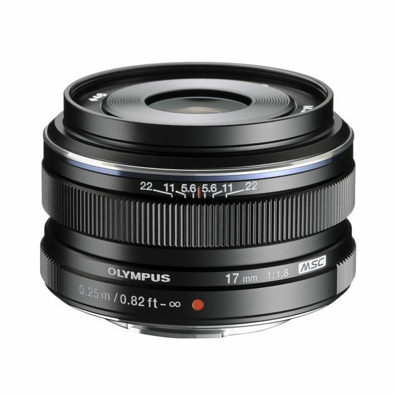 OLYMPUS オリンパス マイクロフォーサーズ用広角単焦点レンズ M.ZUIKO DIGITAL 17mm F1.8 ブラック