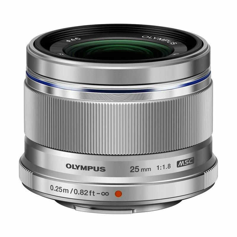 OLYMPUS オリンパス マイクロフォーサーズ用標準単焦点レンズ M.ZUIKO DIGITAL 25mm F1.8 シルバー