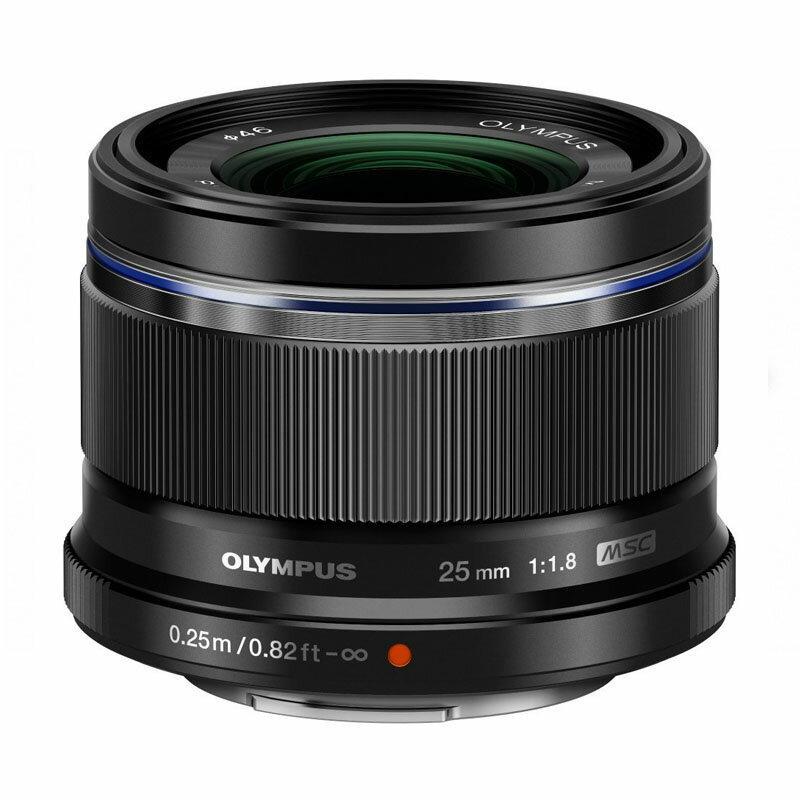 OLYMPUS オリンパス マイクロフォーサーズ用標準単焦点レンズ M.ZUIKO DIGITAL 25mm F1.8 ブラック