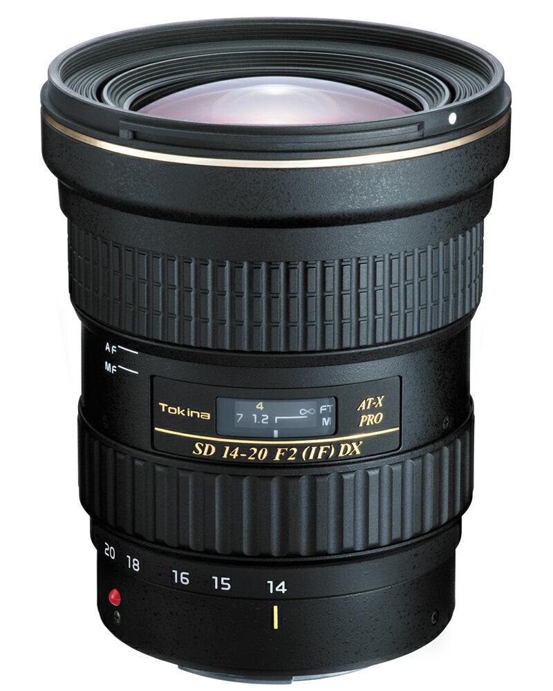 【5月25日10:00-5月29日9:59エントリー&楽天カード決済でポイント9倍!】Tokinaトキナー 超広角ズームレンズ AT-X 14-20 F2 PRO DX 14-20mm F2 IF Canon(キヤノン)用