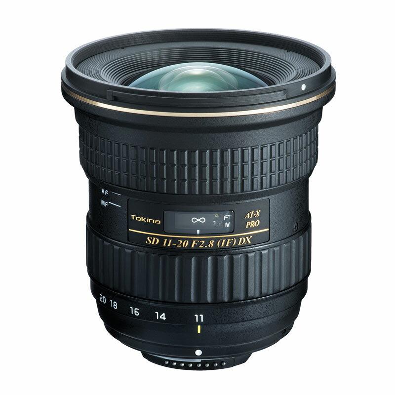 【5月25日10:00-5月29日9:59エントリー&楽天カード決済でポイント9倍!】Tokinaトキナー 広角ズームレンズ AT-X 11-20 PRO DX 11-20mm F2.8 (IF) ASPHERICAL Canon(キヤノン)用