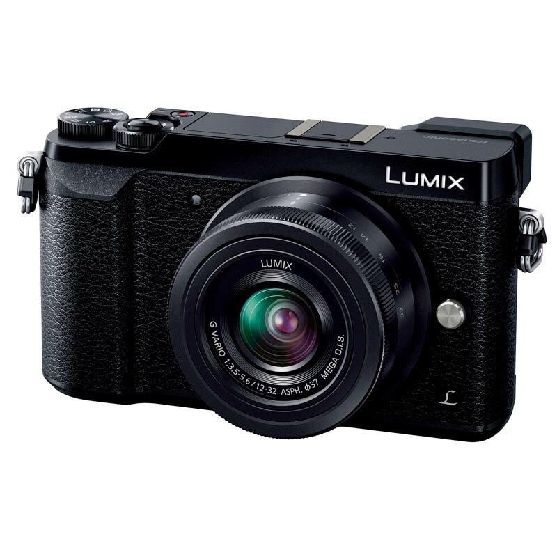 Panasonic パナソニック LUMIX GX7 MarkII 標準ズームレンズキット ブラック (DMC-GX7MK2KK) ミラーレス一眼カメラ