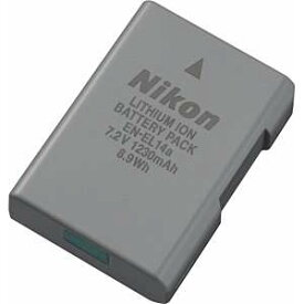 【10月1日24時間限定!Wエントリー&楽天カード決済でポイント最大13倍!】Nikon ニコン Li-ion リチャージャブル バッテリー EN-EL14a
