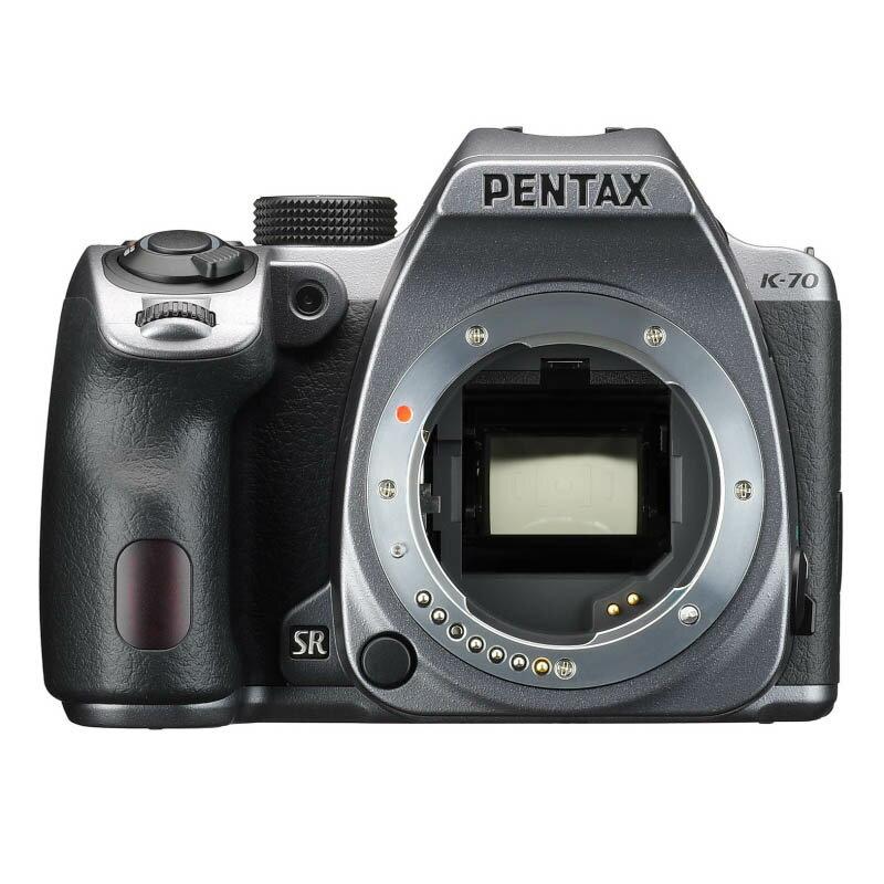 PENTAX ペンタックス デジタル一眼レフカメラ K-70 ボディ シルキーシルバー