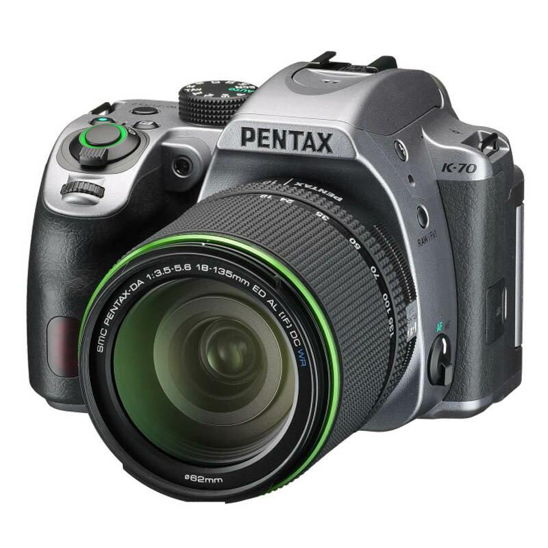PENTAX ペンタックス デジタル一眼レフカメラ K-70 18-135WR レンズキット シルキーシルバー