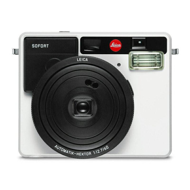 ライカ (Leica) インスタントカメラ ゾフォート SOFORT ホワイト (19100) instax mini フィルム使用