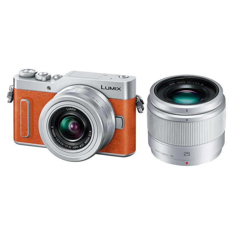 Panasonic LUMIX GF10 ダブルレンズキット オレンジ (DC-GF10W-D) ミラーレス一眼カメラ