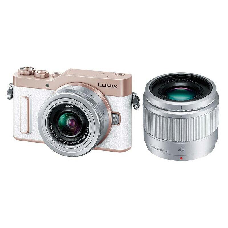 【4月22日20:00-26日1:59エントリー&楽天カード決済でポイント9倍!】Panasonic LUMIX GF10 ダブルレンズキット ホワイト (DC-GF10W-W) ミラーレス一眼カメラ