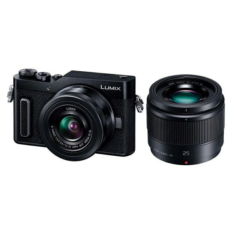 Panasonic LUMIX GF10 ダブルレンズキット ブラック (DC-GF10W-K) ミラーレス一眼カメラ