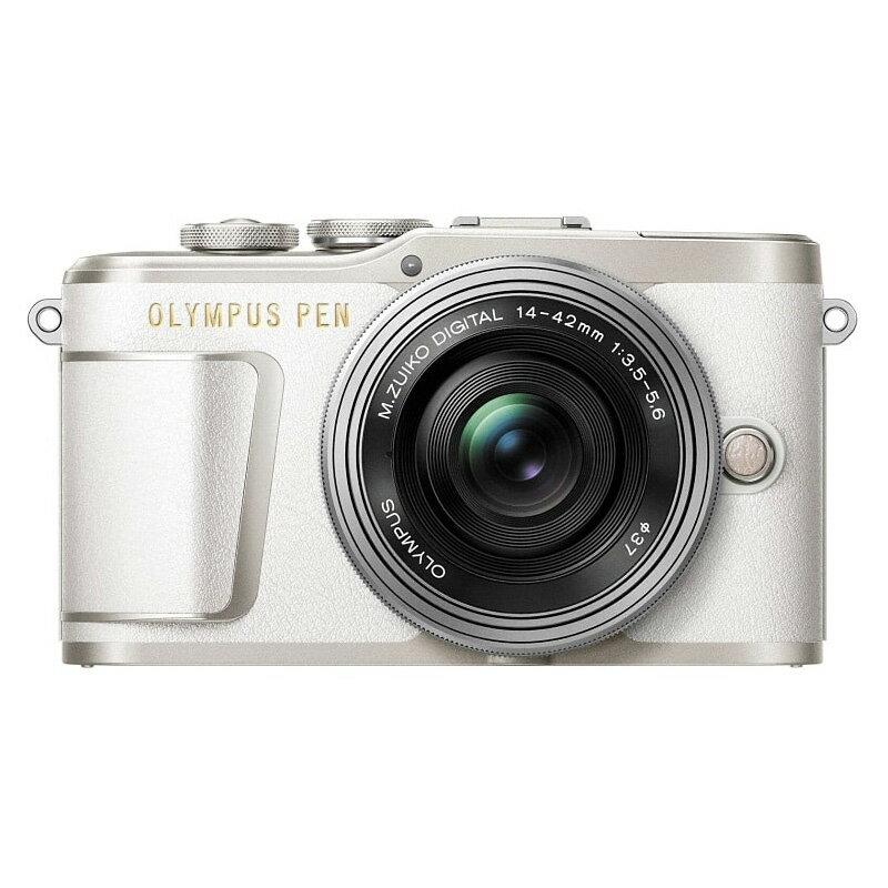 OLYMPUS オリンパス ミラーレス一眼カメラ PEN E-PL9 14-42mm EZ レンズキット ホワイト