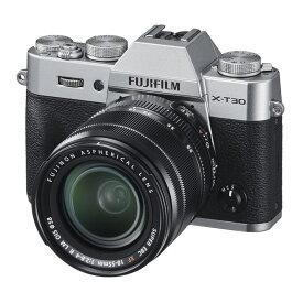 FUJIFILM フジフイルム ミラーレス一眼カメラ X-T30 XF18-55mm レンズキット シルバー