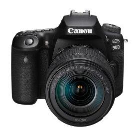 【8月2日20:00-8月9日1:59 最大6,000円OFFクーポン発行中!】Canon キヤノン デジタル一眼レフカメラ EOS 90D EF-S18-135 IS USM レンズキット