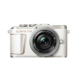 OLYMPUS オリンパス ミラーレス一眼カメラ PEN E-PL10 14-42mm EZ レンズキット ホワイト
