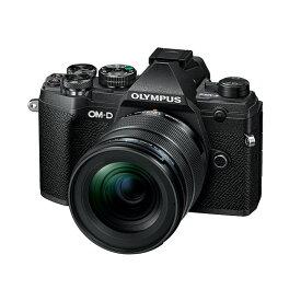 【11月25日10:00-11月27日23:59 300円OFFクーポン発行中!】OLYMPUS オリンパス ミラーレス一眼カメラ OM-D E-M5 Mark III 12-45mm F4.0 PRO キット ブラック