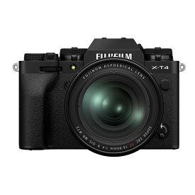 【8月2日20:00-8月9日1:59 最大6,000円OFFクーポン発行中!】FUJIFILM フジフイルム ミラーレス一眼カメラ X-T4 XF16-80mm レンズキット ブラック